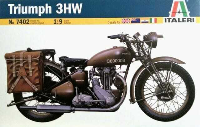 Carson 510007402 1 9 Triumph Motorcycle For Sale Online Ebay