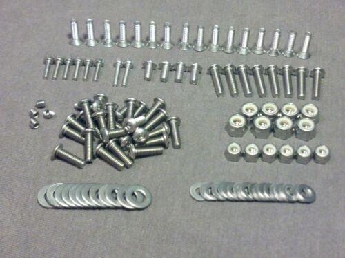 TC10 Touring Car Stainless Steel Hex Head Screw Kit 150+ pc Team C Racing ABSIMA