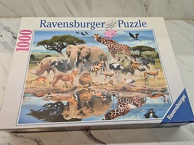 Ravensburger 1000 piece jigsaw puzzle The Water Hole ...