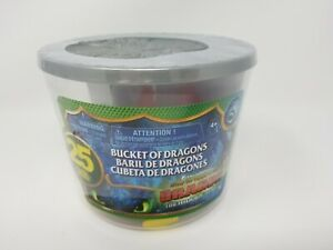 Bucket Of Dragons How To Train Your Dragon 25 Figures The Hidden World
