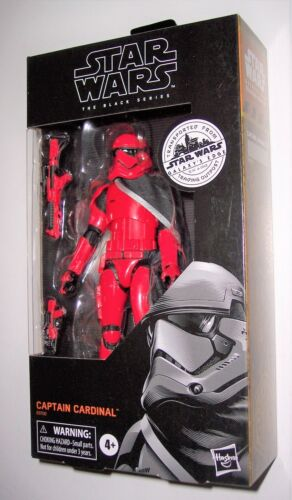 Star Wars 6in Black Series CAPTAIN CARDINAL Galaxy/'s Edge Exclusive New Sealed