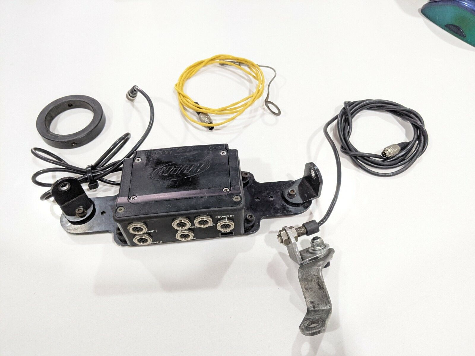 Image 11 - Mychron 4 Expansion Box Gold with speed and Temp sensors, go-kart, cart, gauge