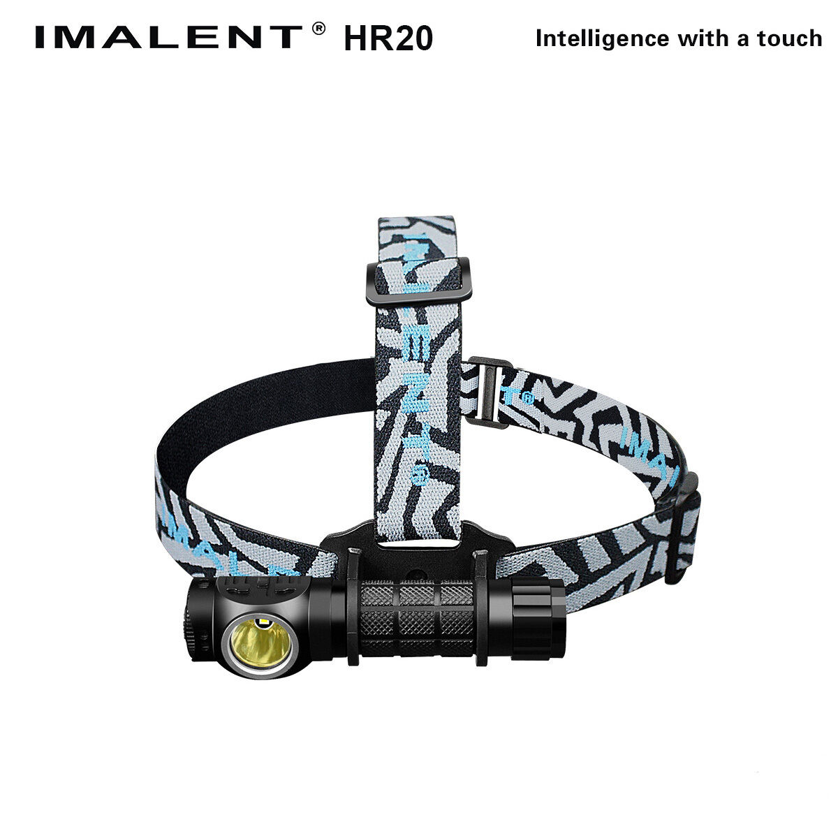 IMALENT  HR20 1000 Lumens cool white Headlight With USB Direct Charge battery  factory outlet store