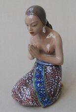 Jugendstil Porzellan Figure Abendgebet Dahl Jensen  Art Nouveau porcelain figure