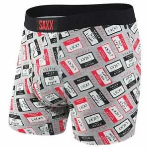 SAXX-Ultra-Boxer-Brief-Fly-Casual-Underwear-Grey-Mens