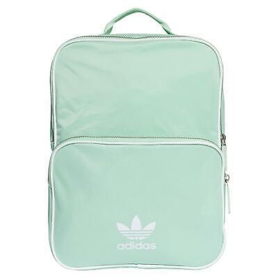 Adidas Originals Adicolour Zaino Zaino Verde Scuola College Nuova Nuova Con Etichetta-mostra Il Titolo Originale
