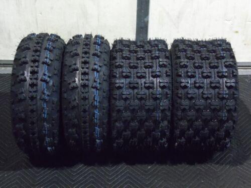 2 TIRE SET 21x7-10  SPORT ATV TIRES Kawasaki KFX400 450R Suzuki LTZ400