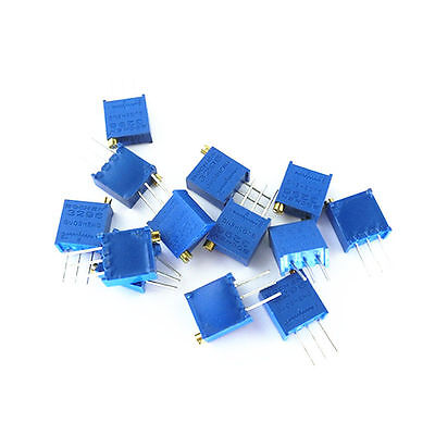 50pcs 3296W-102 3296 W 1K ohm Trim Pot Trimmer Potentiometer NEW