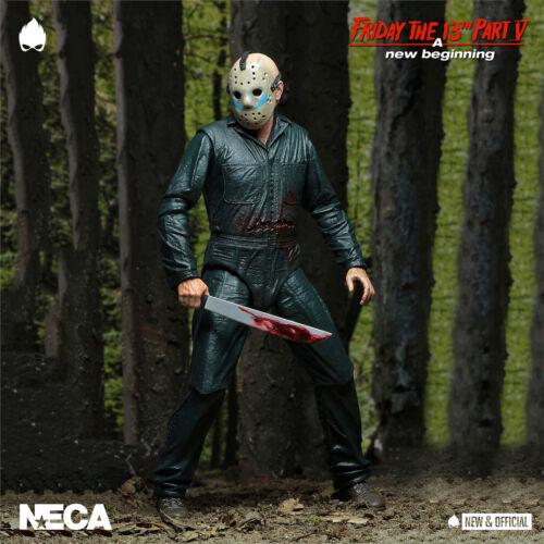 "NECA-Roy Burns Friday The 13th Pt 5 7/"" A//Figure Pré-commande * Neuf /& Officiel *"