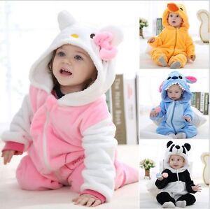 21849e706adb La foto se está cargando Disfraz-Animal -Bebe-escalada-Pijama-Mameluco-Mono-Mono-