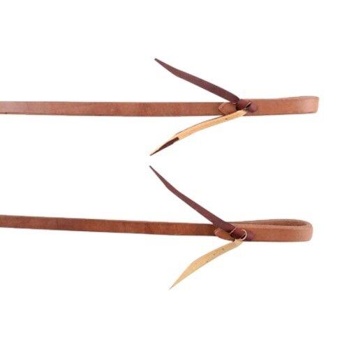 Martin Saddlery Harness Leather Water Tie Split Reins 5 8  x 7-1 2'