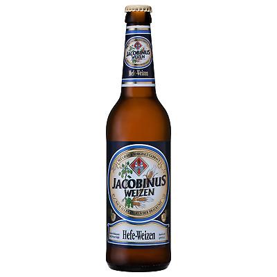 Jacobinus Hefe Weizen 500mL case of 20 International Beer Wheat Beer