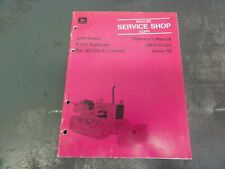 John Deere 6300 Bulldozer For Jd350 B Operators Manual Om T33522 Issue H0