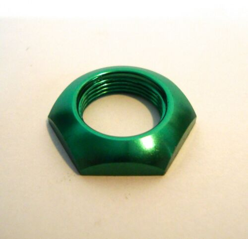 fits  Standard 3PDT and more Anodised Foot Switch Nuts Bulk Buy
