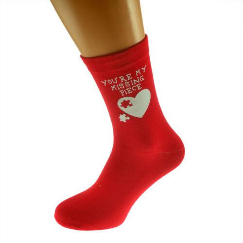 Romantique homme chaussettes amant mari petit ami st-valentin anniversaire cadeau