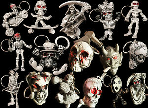 New-Skull-Keychain-Rubber-Devil-Death-Monster-Motor-Car-Key-Chain-Accessories-ti