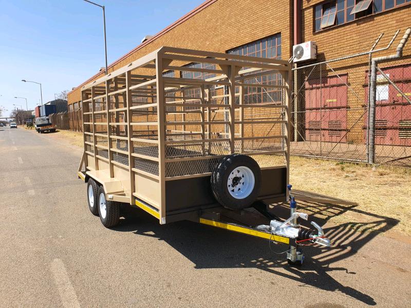 Cattle trailer 4m