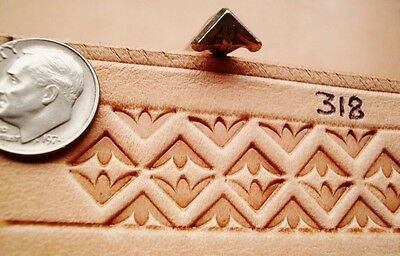 RARE 1980 Midas Leather Stamp Craft Tool  318 LARGE VERSION FREE WORLD SHIPPING