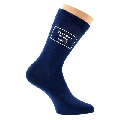 Personalised with Three Initials Mens Navy Blue Mens Socks UK Size 5-12 X6N830
