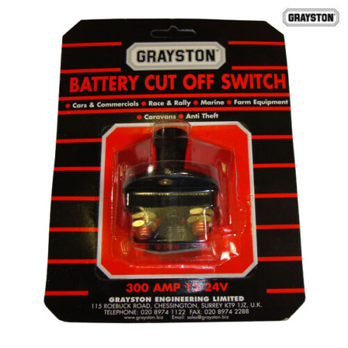 Race//Rally//Motorsport Grayston Cut Out Switch