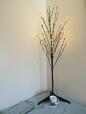 4ft OUTDOOR GARDEN TWIG TREE LIGHTED TREE GARDEN LIGHT DISPLAY TREE