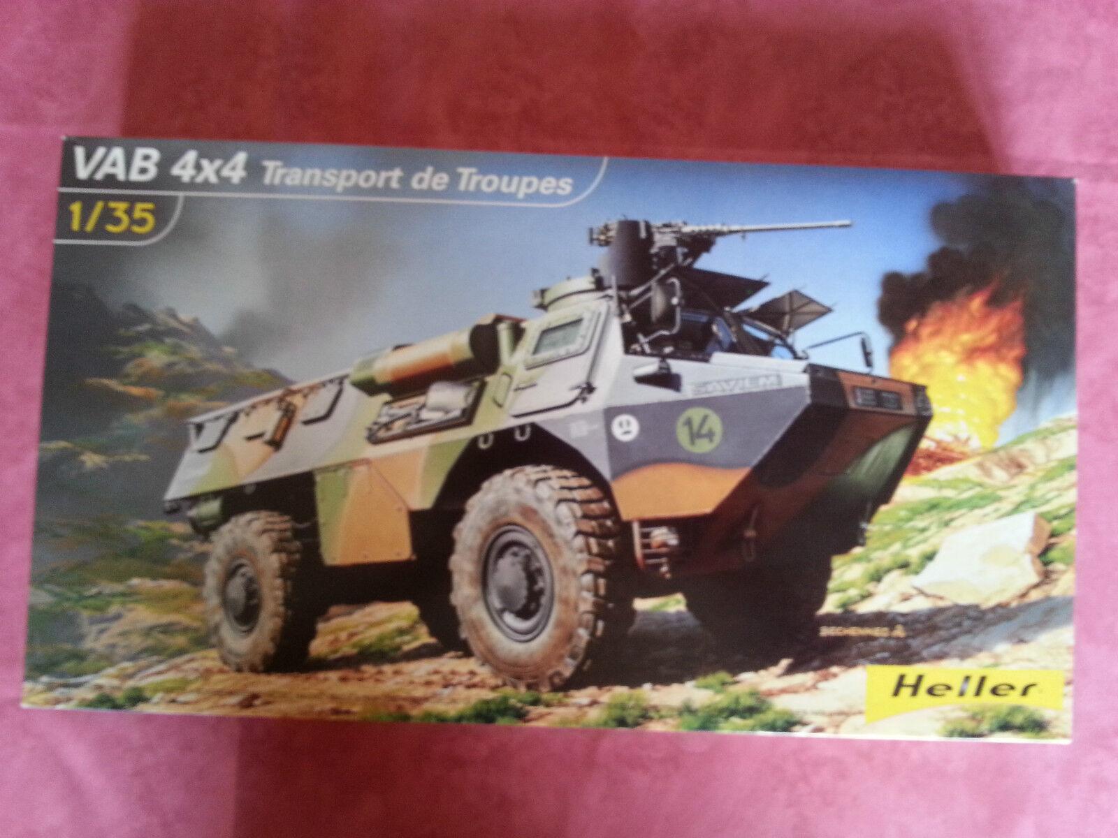 Maquette Neuve Heller VAB 44 Transport de troupes ouvert seulement pour photo