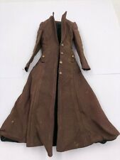 1/6 Long Vintage Jacket Outfit for Fashion Royalty Integrity Male Men Doll