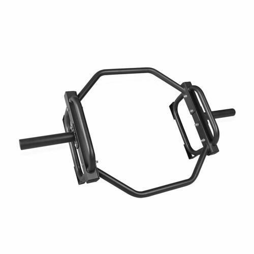 CAP BARBELL BLACK Olympic Trap Bar Shrug Deadlift Gym Training Muscle Home NEW
