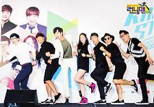RUNNING MAN SBS TV SHOW - 12 PHOTO POSTERS + STICKER SET A3 Size Bromide K-POP