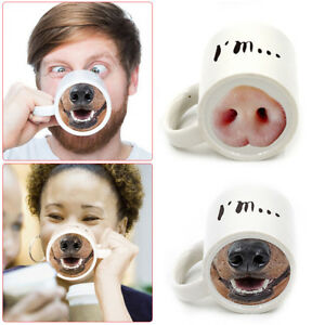 Ceramic-Cup-Drink-Cups-Mug-Funny-Pig-Nose-Cup-Water-Cups-Porcelain-Gift-Cup