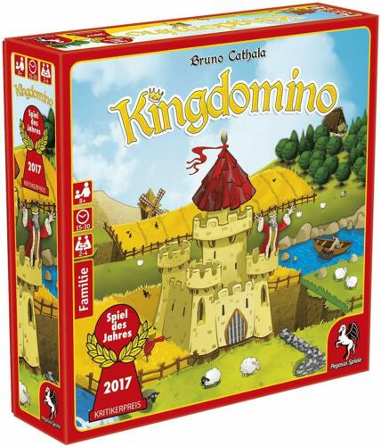 Spiel des Jahres 2017 Kingdomino