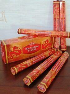 Encens-Sang-de-dragon-Hem-hexa-20-batonnets-1-boite-ou-lot-de-2-3-4-5-6-boites