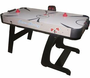 Image Is Loading Foldable Air Hockey Table 4 Feet 6 Inches