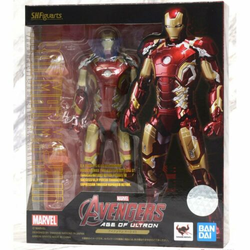 Bandai S.H.Figuarts Marvel Avengers 2 Iron Man Mark 43 MK43 SHF Action Figure