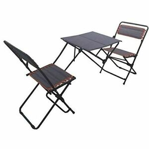 Image Is Loading Patio Portable Camping Bistro Set Folding Outdoor Picnic