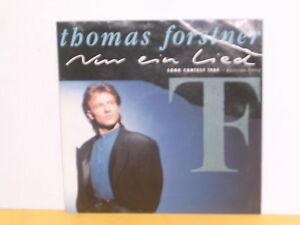 SINGLE-7-034-THOMAS-FORSTNER-NUR-EIN-LIED-SONG-CONTEST-1989