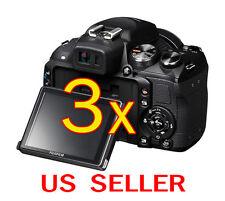 3pcs Fujifilm FinePix HS25EXR Clear LCD Screen Protector Guard Shield Film
