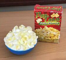 Realistic Fake Fisher Price Play Fun Food Cardboard Box Popcorn Bowl Mtc