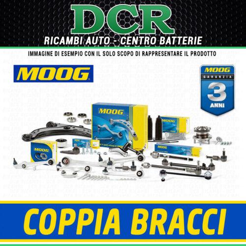 Coppia Bracci ruota anteriore Sx MOOG PE-WP-4741 PE-WP-4742 CITROEN PEUGEOT