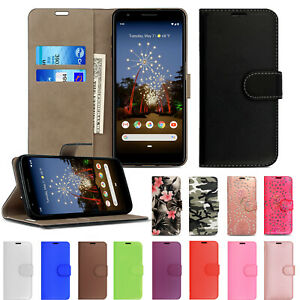 on sale 783f6 e27ca Details about Genuine Luxury Leather Flip Wallet Phone case cover for  Google Pixel 1 2 3 3A XL