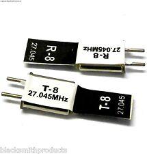 RC Remote Control 27 MHZ 27.045 FM Crystal TX % RX