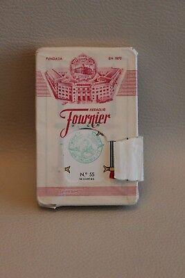 Jeu De Cartes Heraclio Fournier No 55 - 50 Cartes - Neuf, Emballage Endommagé Ineguale Nelle Prestazioni