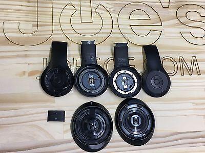 Beats By Dre Wireless Headphones Matte Black Parts Panels Outside Inside B0501 Ebay