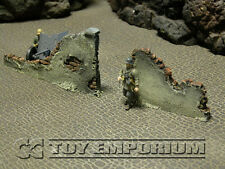 """Build-a-Rama 1:32 WWII Deluxe """"Gate Wall Ruin"""" Set (2 Piece Set)"""