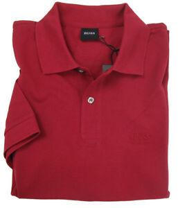 af480ba9 Hugo Boss Mens Polo Shirt Ferno Regular Fit Dark Red 100% Cotton ...