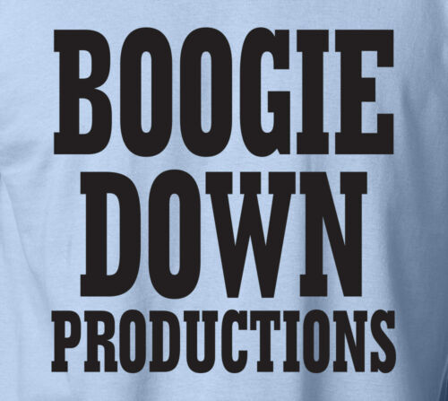 BOOGIE DOWN PRODUCTIONS Ringspun T-Shirt BDP KRS-One D-Nice DJ Retro Hip Hop Tee