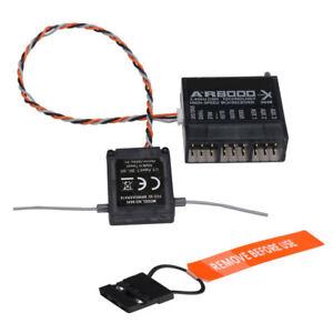 AR8000-8Ch-DSMX-Hi-Speed-Receiver-Extended-Antenna-For-Spektrum-DX7s-DX8-DX9