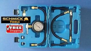 SCHMICK-CAR-FUEL-INJECTION-PRESSURE-TESTER-GAUGE-KIT-TEST-AUTO-INJECTOR-PETROL
