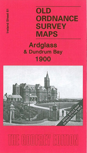 OLD ORDNANCE SURVEY MAP ARDGLASS DUNDRUM BAY 1900 ANNALONG NEWCASTLE TYRELLA