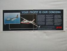 9/1990 PUB IPTN CASA CN-235 MERPATI N-250 AIRCRAFT INDONESIA ORIGINAL AD